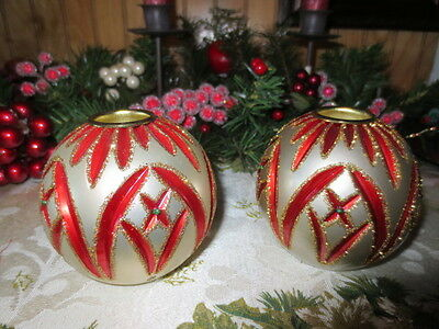 Waterford Holiday Heirloom Ornament Cashel Candle Holders with box