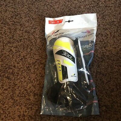 Shin pads FOOTBALL pro touch small shin guards with ankle support