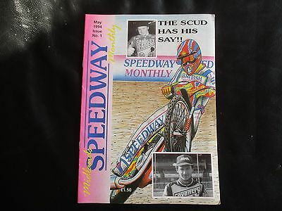 Midlands Speedway Monthly Magazine Issue 1 May 1994
