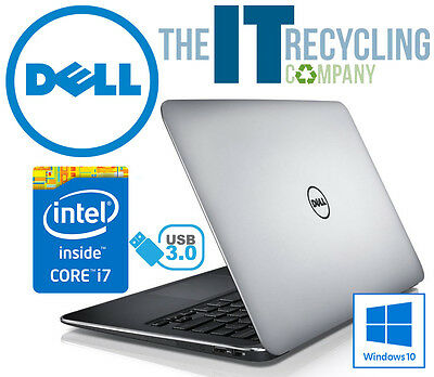 WINDOWS 10 - DELL XPS 13 LAPTOP - INTEL i7-3537U 2.0, 8GB RAM, 256GB SSD HD
