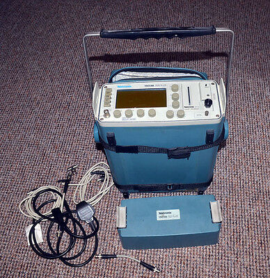 Tektronix 1503B Portable Metallic TDR Cable Tester w/YT-1S Chart Recorder READ
