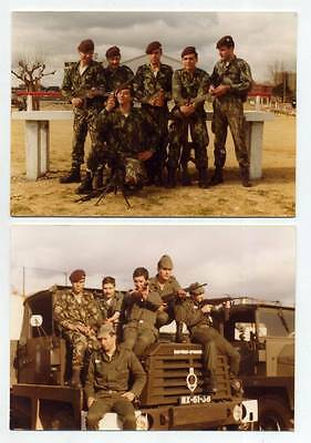 Lot 7 fotos. Portuguese Military Photography 1981