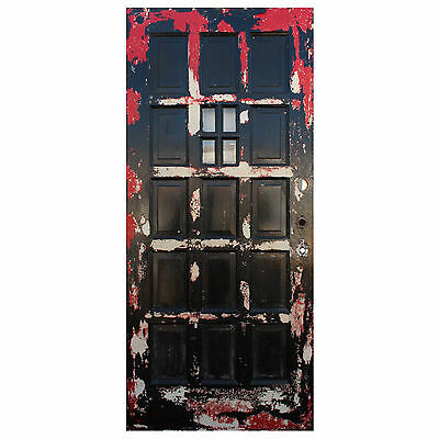 "Reclaimed 36"" Multi Panel Door with Window, NED598"