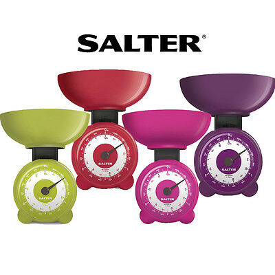 Salter Orb Mechanical Weighting kitchen Scales 3kg Assorted Colours