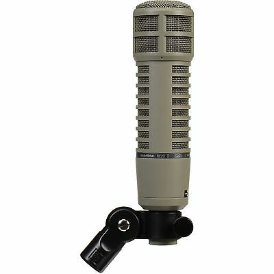Electro-Voice RE20 Dynamic Cardioid Microphone with 309A Shockmount NEW In Box