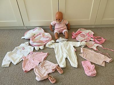 Baby Annabell Doll and accessories