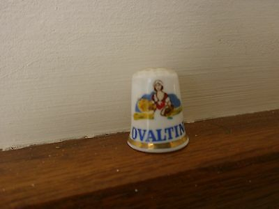 Collectable Ovaltine Thimble
