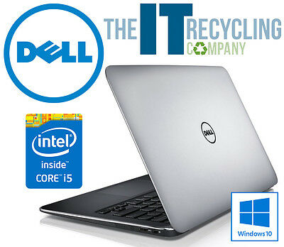 WINDOWS 10 - DELL XPS 13 LAPTOP - INTEL i5-3337U 1.80GHZ, 4GB RAM, 128GB SSD