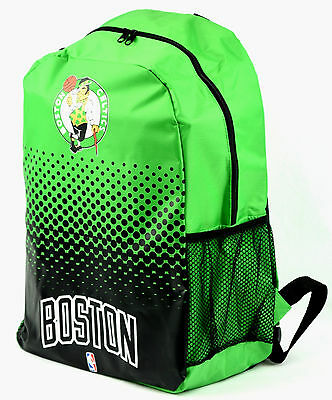 NBA Basketball Rucksack BOSTON CELTICS Backpack Fade Bag Tasche