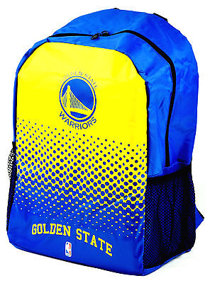 NBA Basketball Rucksack GOLDEN STATE WARRIORS Backpack Fade Bag Tasche