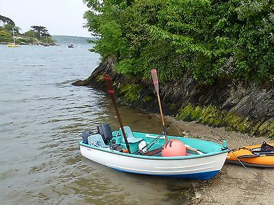 boat and trailer 13ft bonwitco 300