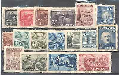 GERMAN Occup. of Slovakia - Lot of Stamps MNH**