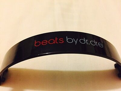 Replacement Top Headband For Dr Dre Beats Solo HD Headphones  BLACK