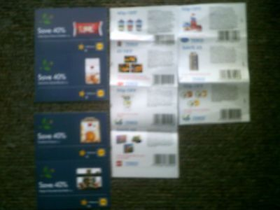 £20.00 Worth of Supermarket Money Off Vouchers/Coupons lidl and tesco