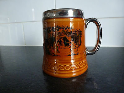 Lord Nelson Potteries Beer Tankard - Boxing Scene