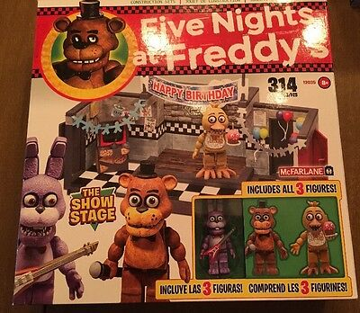 FNAF Five Nights At Freddy's Construction Set- The Show Stage