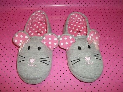 Mouse Slippers Bnwt Size 1