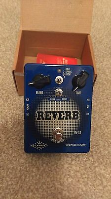 Biyang RV12 6-Mode Reverb Pedal For Stage Or Recording