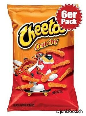 6er Pack Cheetos Crunchy Cheese Snacks (6x241g)