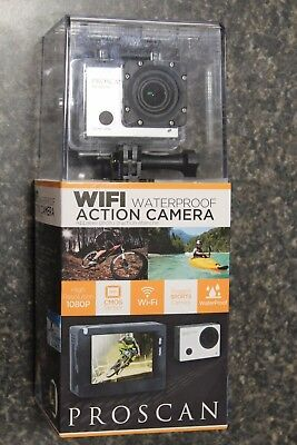 New Pac2501 Waterproof Wifi Action Camera 1080P   New