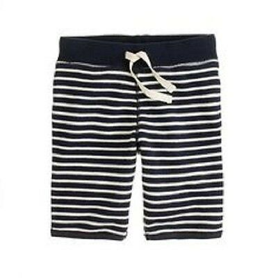 Crewcuts by J Crew Nautical Stripe Terry Pull-On Shorts-8