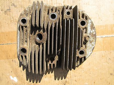 The head of The block of cylinders NSU 601 TS original