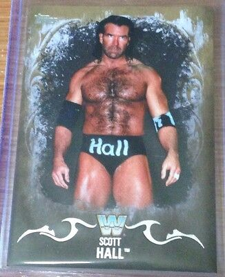 2016 Topps WWE Undisputed Scott Hall Gold Parallel Card /10!!