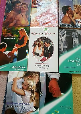 x8 Mills And Boon Paperback Books Vintage Joblot romance novels, Some Medical