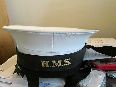 Royal Navy Hat With H.m.s. Tally Grade 2