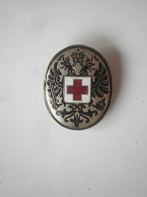 Red Cross Austria Hungary Wwi Md Medical Doctor Medicine Badge 1Wk