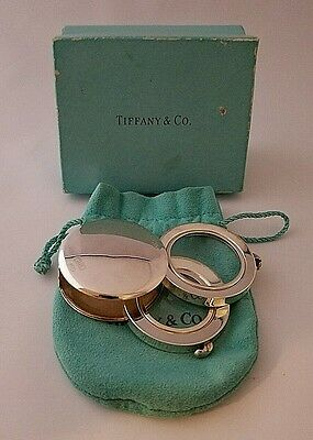 Tiffany & Co. Double Jewelers Loupe .925 Sterling Silver