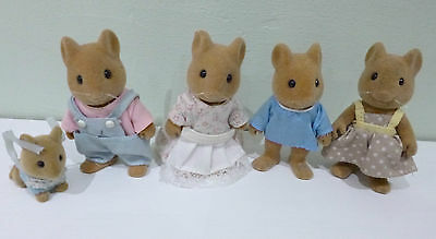 Sylvanian Mice Family In Excellent Condition