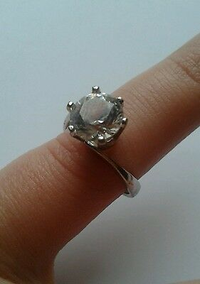 Vintage Jewellery-925 Sterling Silver Ring, 'stamped 'hb', Size O/p