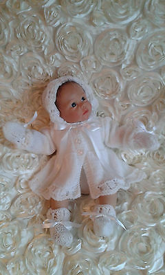 Reborn Baby Clothing / Hand Knitted / Dolls Clothes / Cardigan / Romper/ Matinee