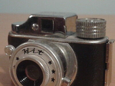 Hit Subminiature Vintage Film Camera with Case Japan