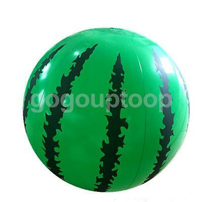 """Inflatable Watermelon Beach Ball Swimming Pool Outdoor Party Novelty Toy 14"""""""