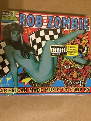 """Rob Zombie American Made Music To Strip By CD """"Sealed New"""""""