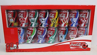 Coca Cola  Fussball Collection 15 verschiedene  Dosen