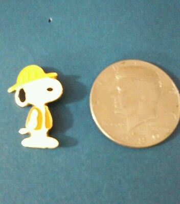 Charles Schulz Museum Donor Pin Snoopy Construction Worker