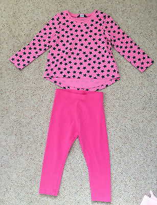 Little Girls 2 Piece Outfit From George Age 2-3 Years  Ex Cond