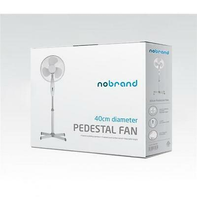 NoBrand Standing Fan, 40cm with 3 Speeds, Height 1.2M, Power Cord 1.5M, Base Siz