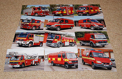 12x South Wales Fire & Rescue Service vehicle photos - specials