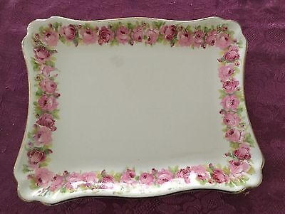 Royal Doulton Raby Rose Sandwich Plate