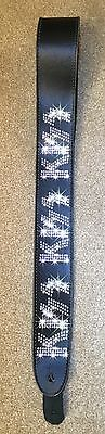 Kiss Leather Guitar Strap