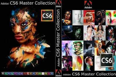 *Adobe CS6 Master Collection Winows 2 User Licence*