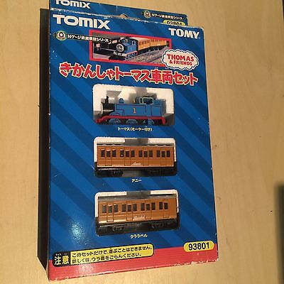 Very Rare - Tomix N Gauge Thomas the Tank Engine - Plus Annie and Clarabel