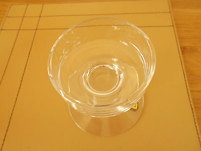 Dartington Glass Candle Holder With Sticker