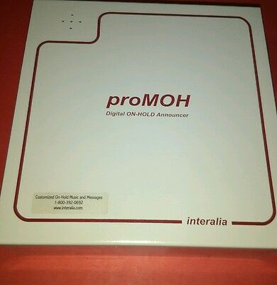 Interalia proMOH Digital On-Hold Announcer (PM4-A)
