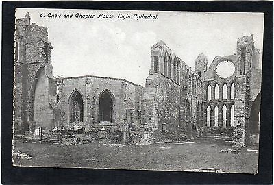ELGIN Cathedral, Choir and Chapter House, Moray, Scotland.