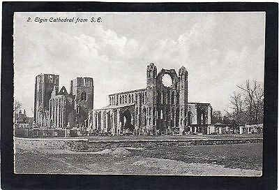 ELGIN Cathedral from S.E., Moray, Scotland.